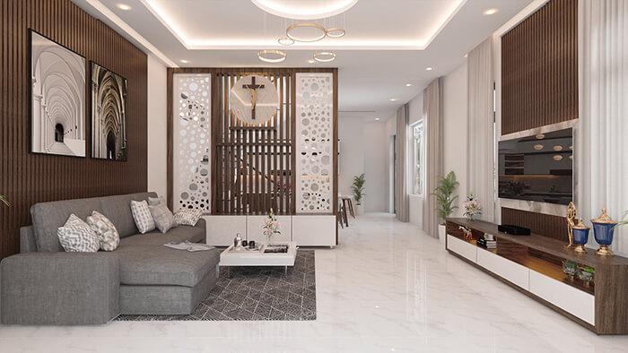 Thiết kế nội thất biệt thự đẹp tại tp.hcm