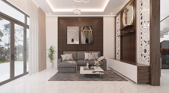 Thiết kế nội thất biệt thự đẹp giá rẻ