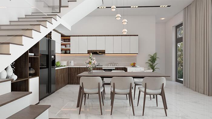 Thiết kế nội thất biệt thự đẹp mà rẻ