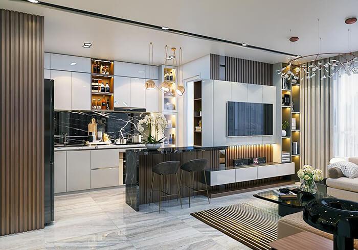 Thiết kế nội thất chung cư tại tphcm