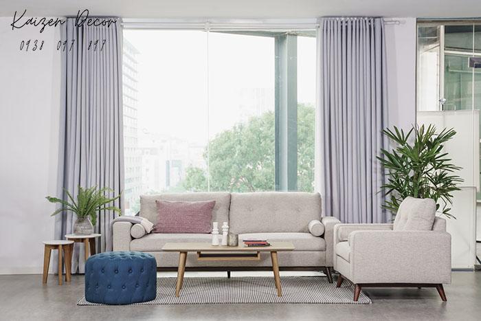 Bộ sofa hiện đại dành cho chung cư