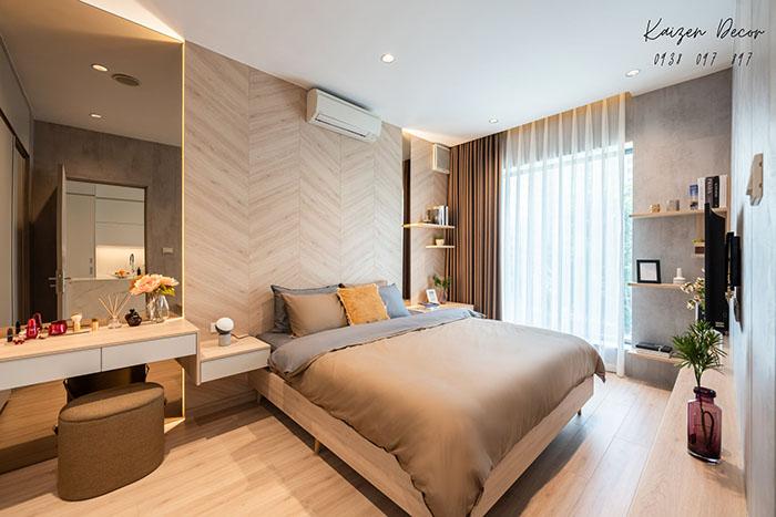 ý tưởng thiết kế nội thất phòng ngủ chung cư đẹp