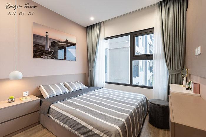 Giường ngủ đẹp hiện đại GN17