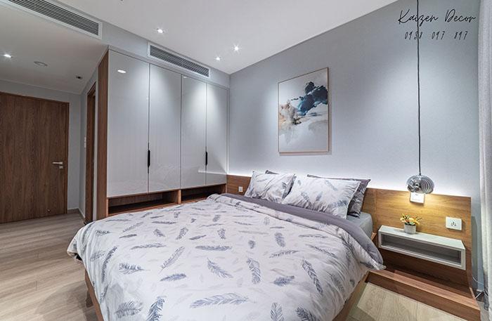 Giường ngủ gỗ MDF phủ melamin sang trọng
