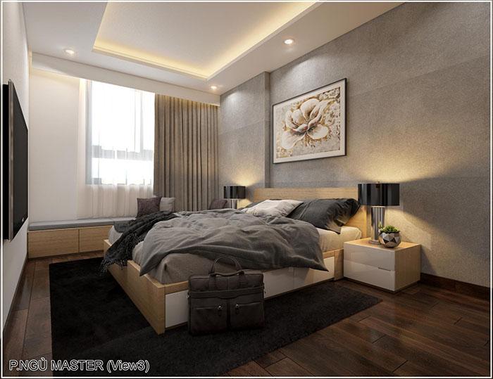 Dự án thiết kế nội thất căn hộ 2PN