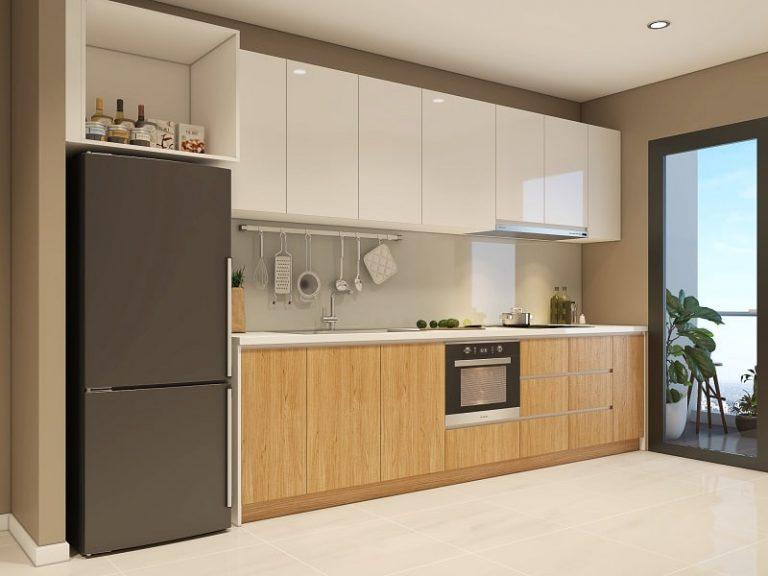 Mẫu tủ bếp dành cho căn hộ chung cư đẹp