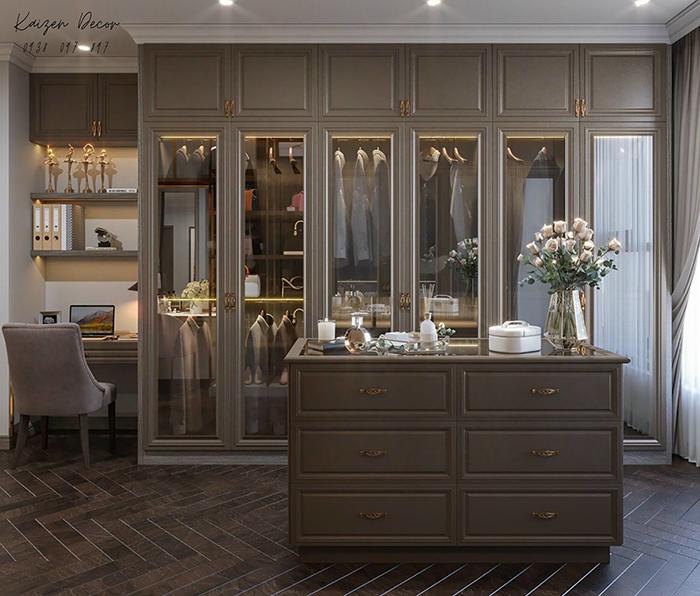 Thiết kế thi công nội thất căn hộ sang trọng