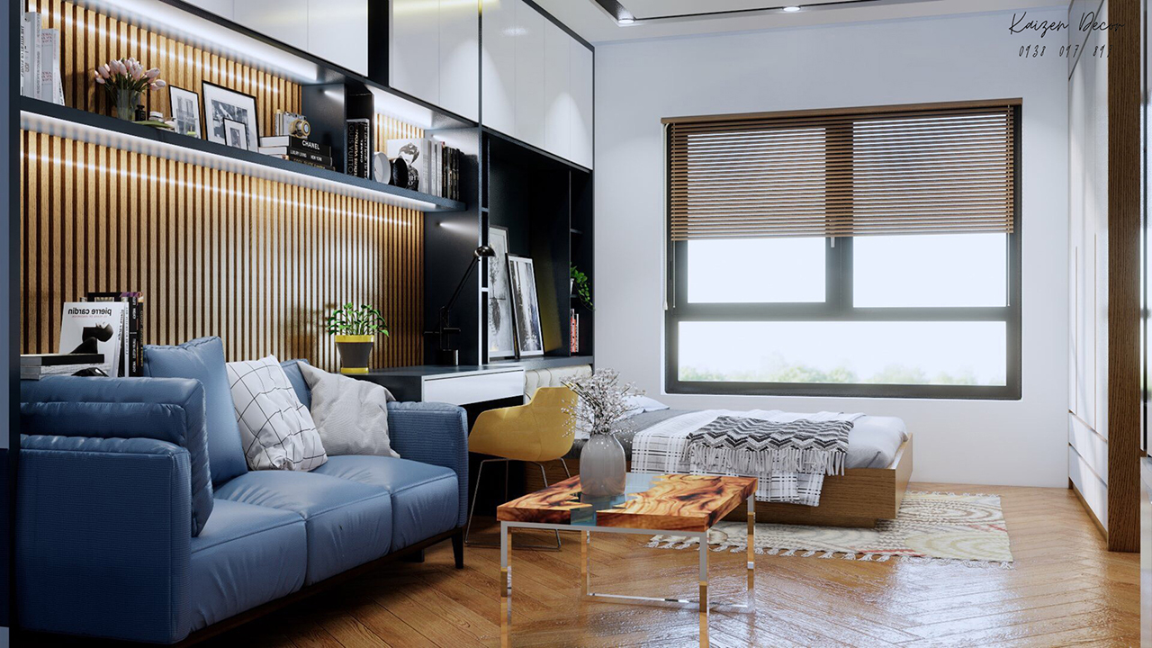 Thiết kế nội thất căn hộ chung cư mini tại Thủ Đức